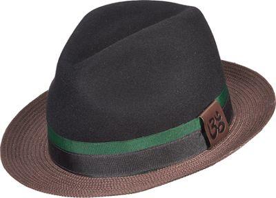 Carlos Santana Hats Eclipse Hat L - Black - Large - Carlos Santana Hats Hats