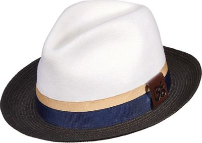 Carlos Santana Hats Eclipse Hat L - White - Large - Carlos Santana Hats Hats