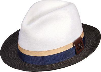 Carlos Santana Hats Eclipse Hat XL - White - Xlarge - Carlos Santana Hats Hats