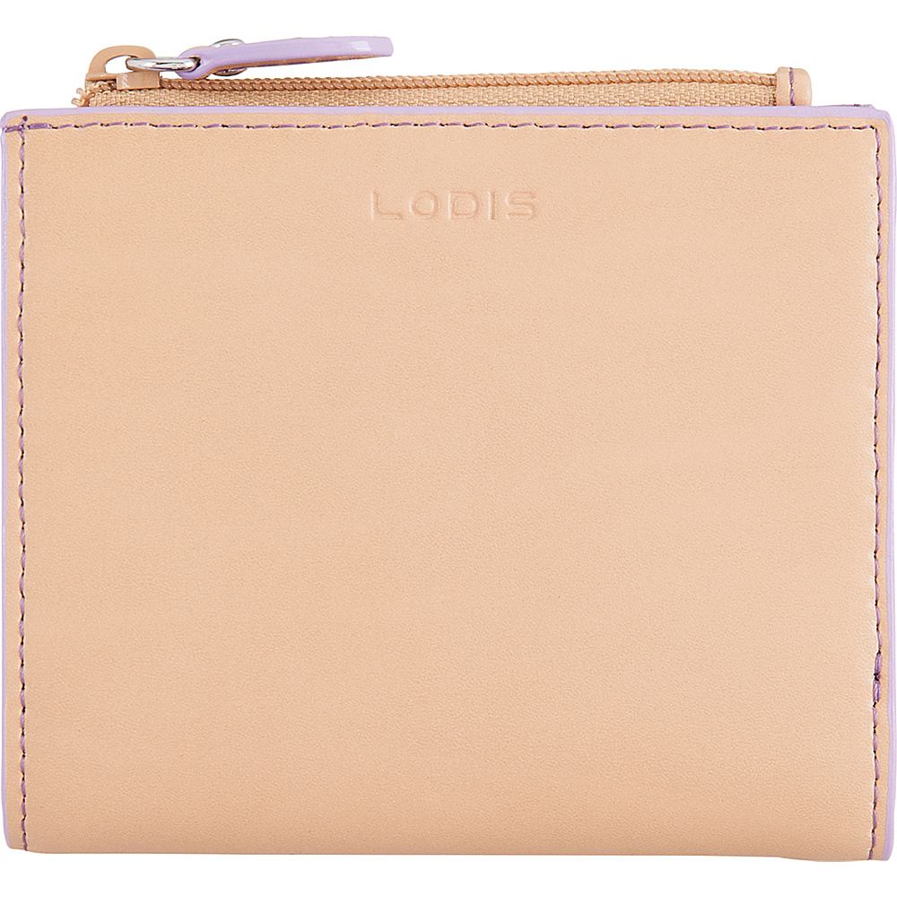 Lodis Audrey RFID Aldis Wallet Natural/Lavender - Lodis Womens Wallets - Women's SLG, Women's Wallets