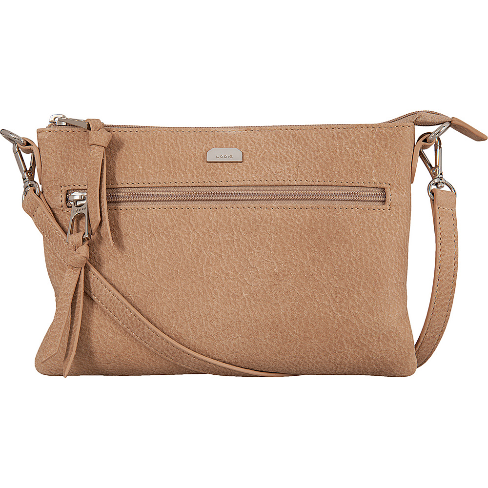 Lodis Gijon Kala Convertible Crossbody Desert - Lodis Leather Handbags - Handbags, Leather Handbags