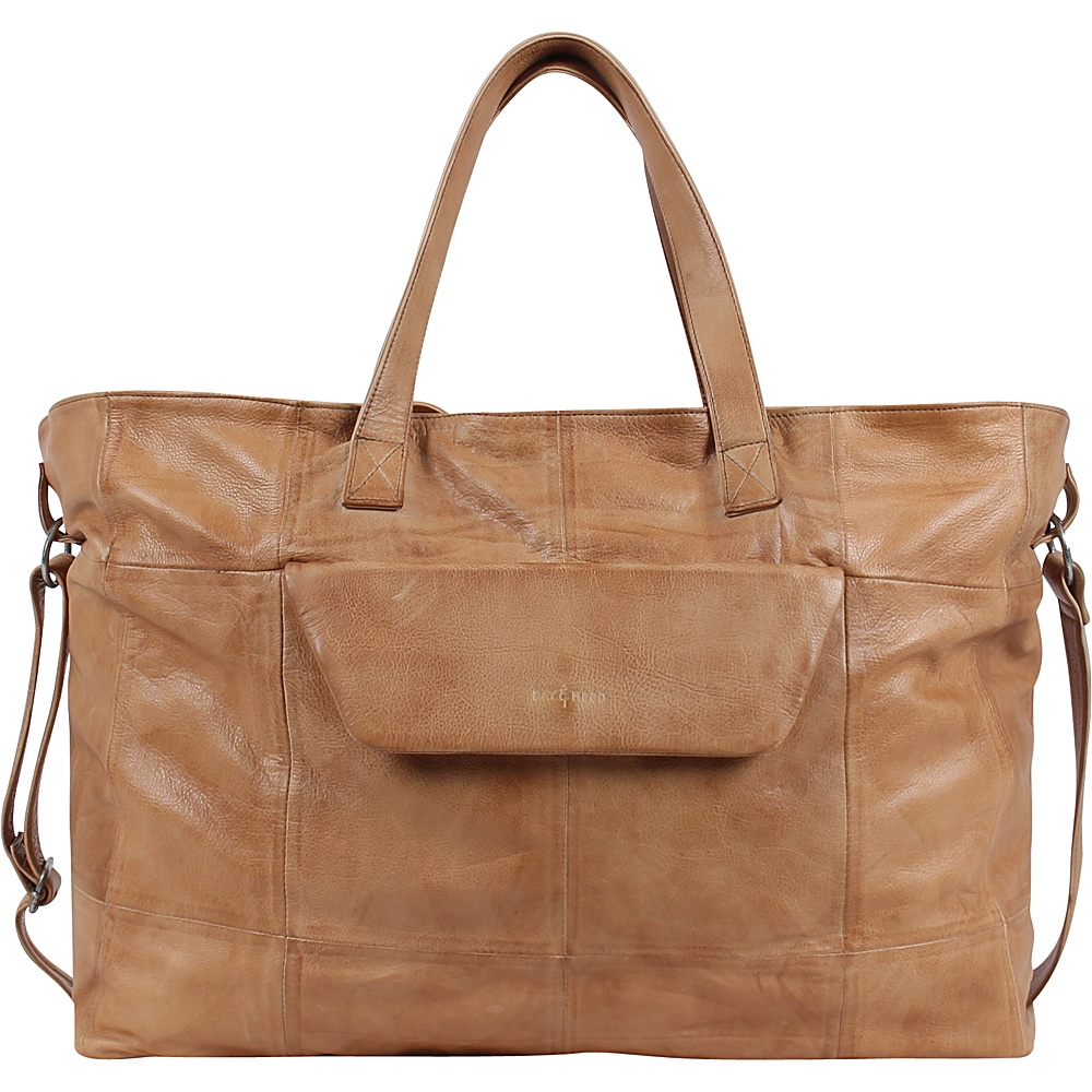 Day Mood Cecily Weekend Bag Camel Day Mood Luggage Totes and Satchels