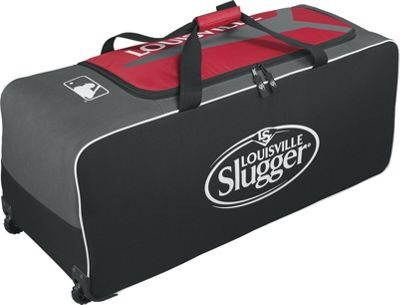 Wilson Series 5 Ton Wheeled Bag Red - Wilson Gym Bags
