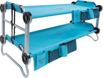 Disc-O-Bed KidOBunk with Organizers Blue - Disc-O-Bed Outdoor Accessories