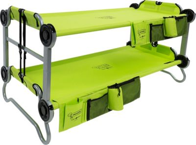 Disc-O-Bed KidOBunk with Organizers Green - Disc-O-Bed Outdoor Accessories