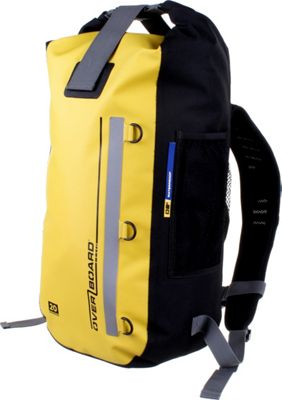 Roc Gear 20L Classic Waterproof Backpack Yellow - Roc Gear Day Hiking Backpacks