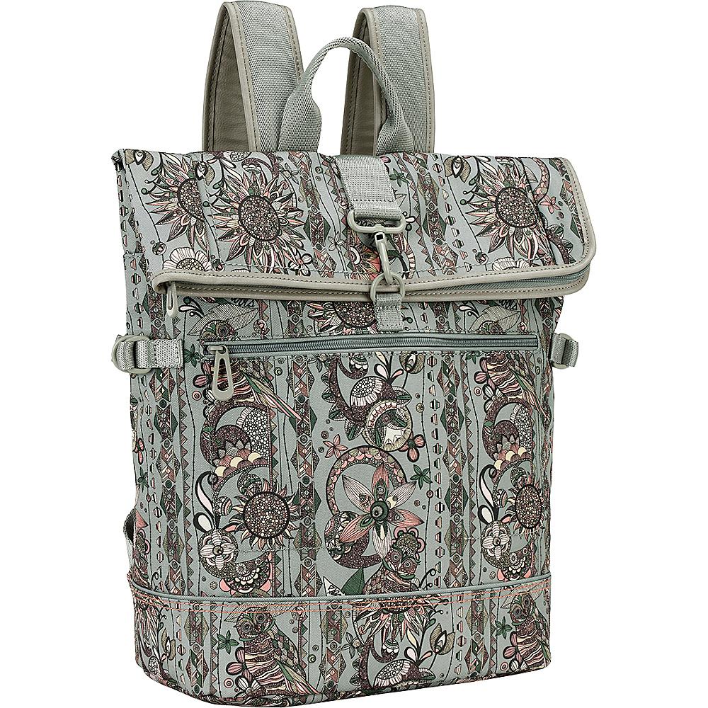 Sakroots New Adventure Explorer Roll Top Backpack Olive Spirit Desert - Sakroots Everyday Backpacks - Backpacks, Everyday Backpacks