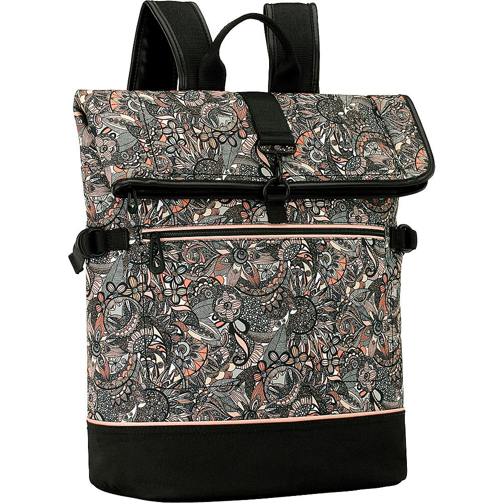 Sakroots New Adventure Explorer Roll Top Backpack Sienna Spirit Desert - Sakroots Everyday Backpacks - Backpacks, Everyday Backpacks