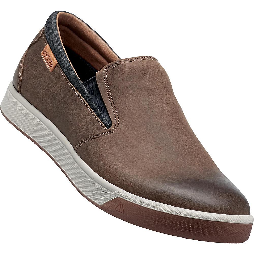 KEEN Mens Glenhaven Slip-On 7 - Cascade Brown - KEEN Mens Footwear - Apparel & Footwear, Men's Footwear