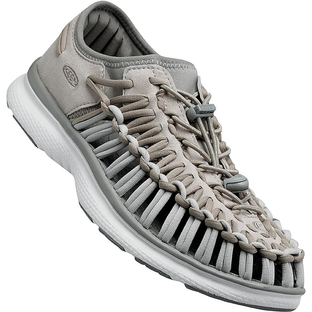 KEEN Mens UNEEK O2 Sandal 7.5 - Vapor / White - KEEN Mens Footwear - Apparel & Footwear, Men's Footwear