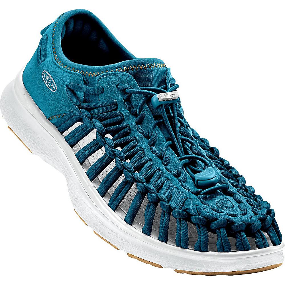 KEEN Mens UNEEK O2 Sandal 11.5 - Seaport/White - KEEN Mens Footwear - Apparel & Footwear, Men's Footwear