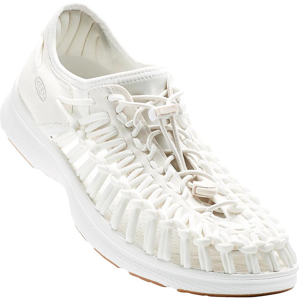 KEEN Mens UNEEK O2 Sandal 10 - White/Harvest Gold - KEEN Mens Footwear - Apparel & Footwear, Men's Footwear