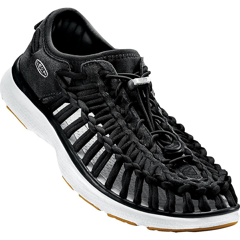 KEEN Mens UNEEK O2 Sandal 11 - Black/Harvest Gold - KEEN Mens Footwear - Apparel & Footwear, Men's Footwear