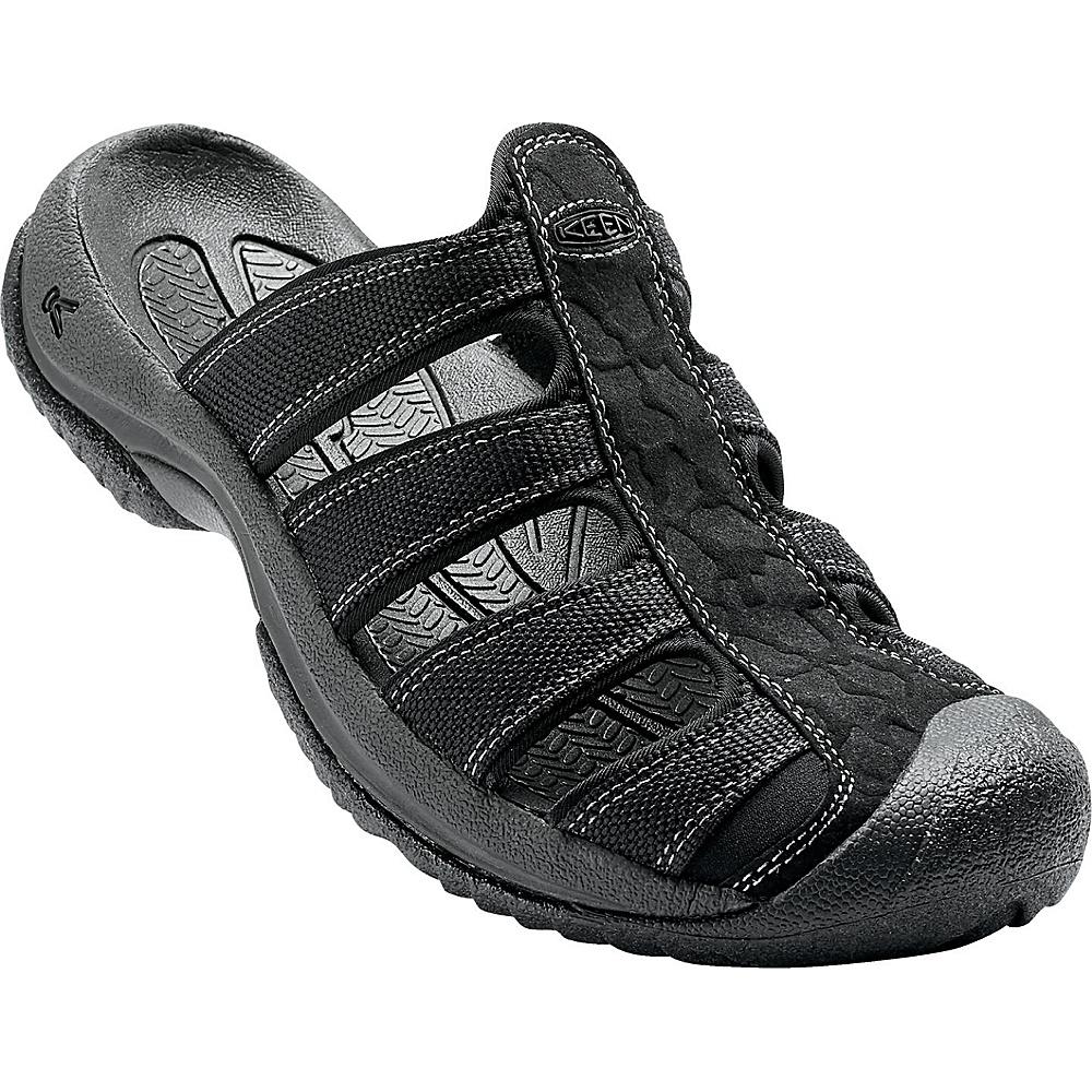 KEEN Mens Aruba ll Sandal 10 - Black / Gargoyle - KEEN Mens Footwear - Apparel & Footwear, Men's Footwear