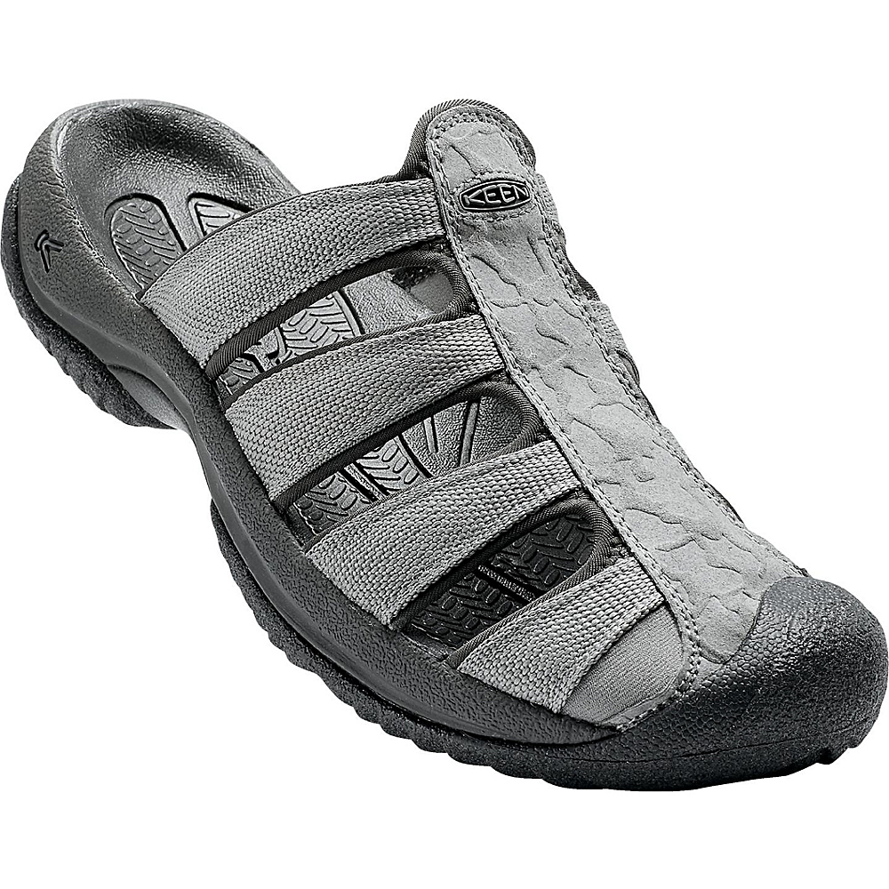 KEEN Mens Aruba ll Sandal 8 - Gargoyle/Raven - KEEN Mens Footwear - Apparel & Footwear, Men's Footwear