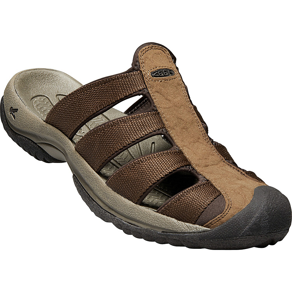 KEEN Mens Aruba ll Sandal 9 - Dark Earth/Mulch - KEEN Mens Footwear - Apparel & Footwear, Men's Footwear