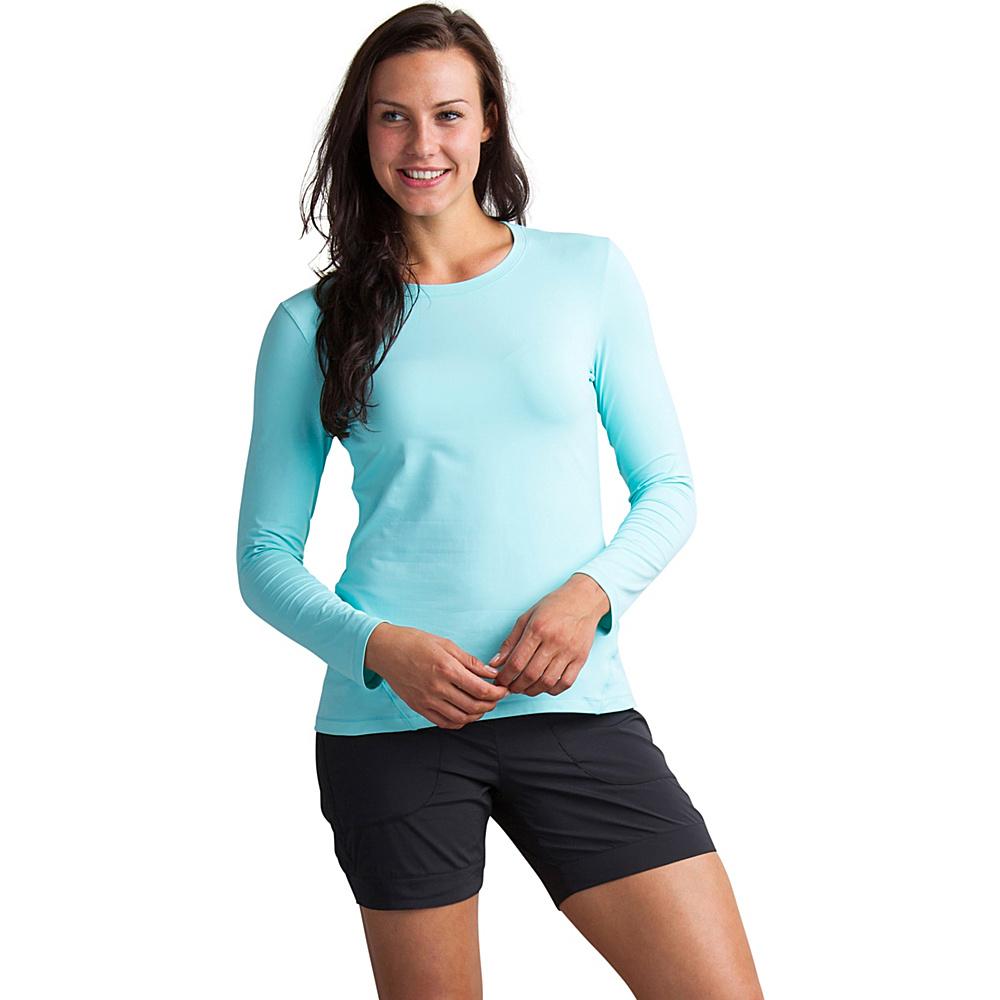 ExOfficio Womens Sol Cool Performance Long Sleeve Shirt XS - Aruba - ExOfficio Womens Apparel - Apparel & Footwear, Women's Apparel