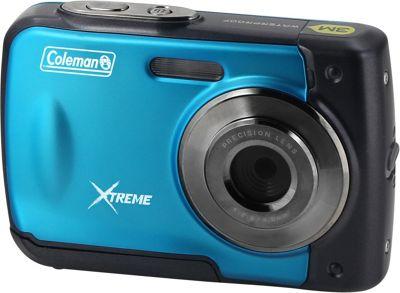 Coleman Xtreme 18.0 MP HD Underwater Digital & Video Camera Blue - Coleman Cameras