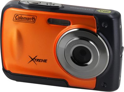 Coleman Xtreme 18.0 MP HD Underwater Digital & Video Camera Orange - Coleman Cameras