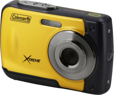 Coleman Coleman Xtreme 18.0 MP HD Underwater Digital & Video Camera Yellow - Coleman Cameras