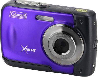 Coleman Xtreme 18.0 MP HD Underwater Digital & Video Camera Purple - Coleman Cameras