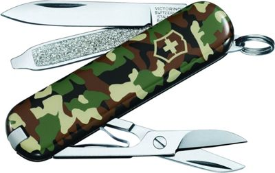Victorinox Swiss Army Classic SD Swiss Army Knife Camo - Victorinox Swiss Army Outdoor Accessories