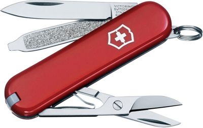 Victorinox Swiss Army Classic SD Swiss Army Knife Red - Victorinox Swiss Army Outdoor Accessories 10532972