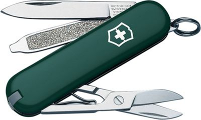 Victorinox Swiss Army Classic SD Swiss Army Knife Green - Victorinox Swiss Army Outdoor Accessories