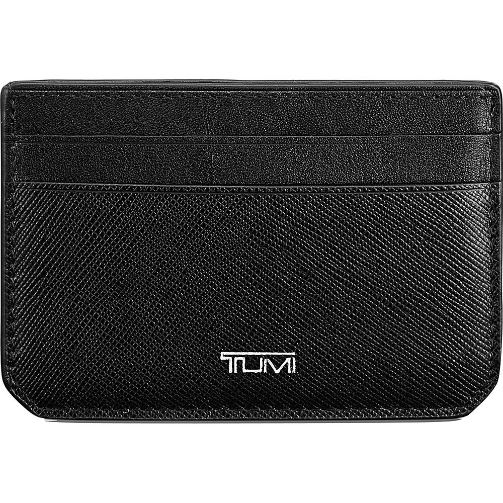 Tumi Mason Slim Card Case ID Black - Tumi Mens Wallets - Work Bags & Briefcases, Men's Wallets