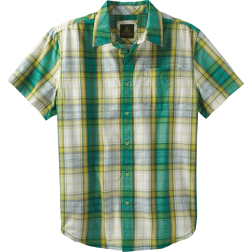 PrAna Tamrack Shirt L - Spruce - PrAna Mens Apparel - Apparel & Footwear, Men's Apparel