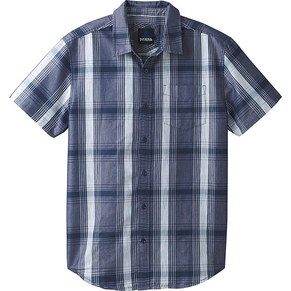 PrAna Tamrack Shirt S - Equinox Blue - PrAna Mens Apparel - Apparel & Footwear, Men's Apparel