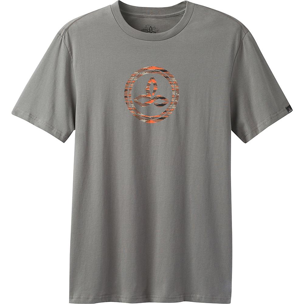 PrAna Classic T-Shirt S - Gravel - PrAna Mens Apparel - Apparel & Footwear, Men's Apparel