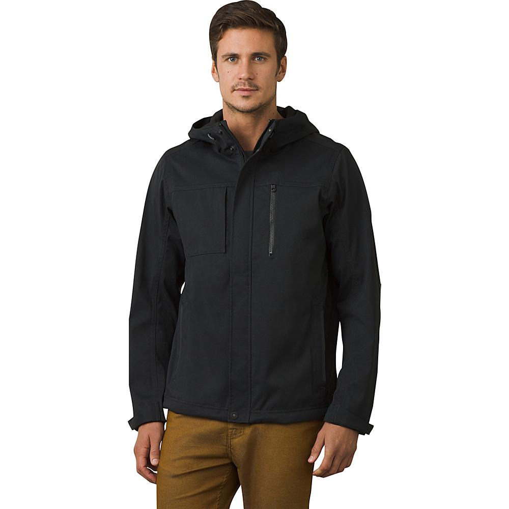 PrAna Zion Hooded Jacket XXL - Black - PrAna Mens Apparel - Apparel & Footwear, Men's Apparel