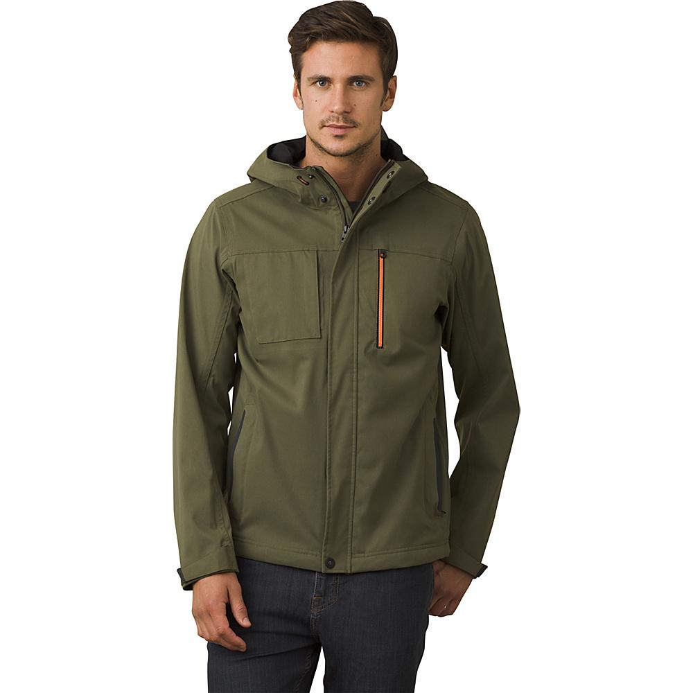 PrAna Zion Hooded Jacket XL - Cargo Green - PrAna Mens Apparel - Apparel & Footwear, Men's Apparel