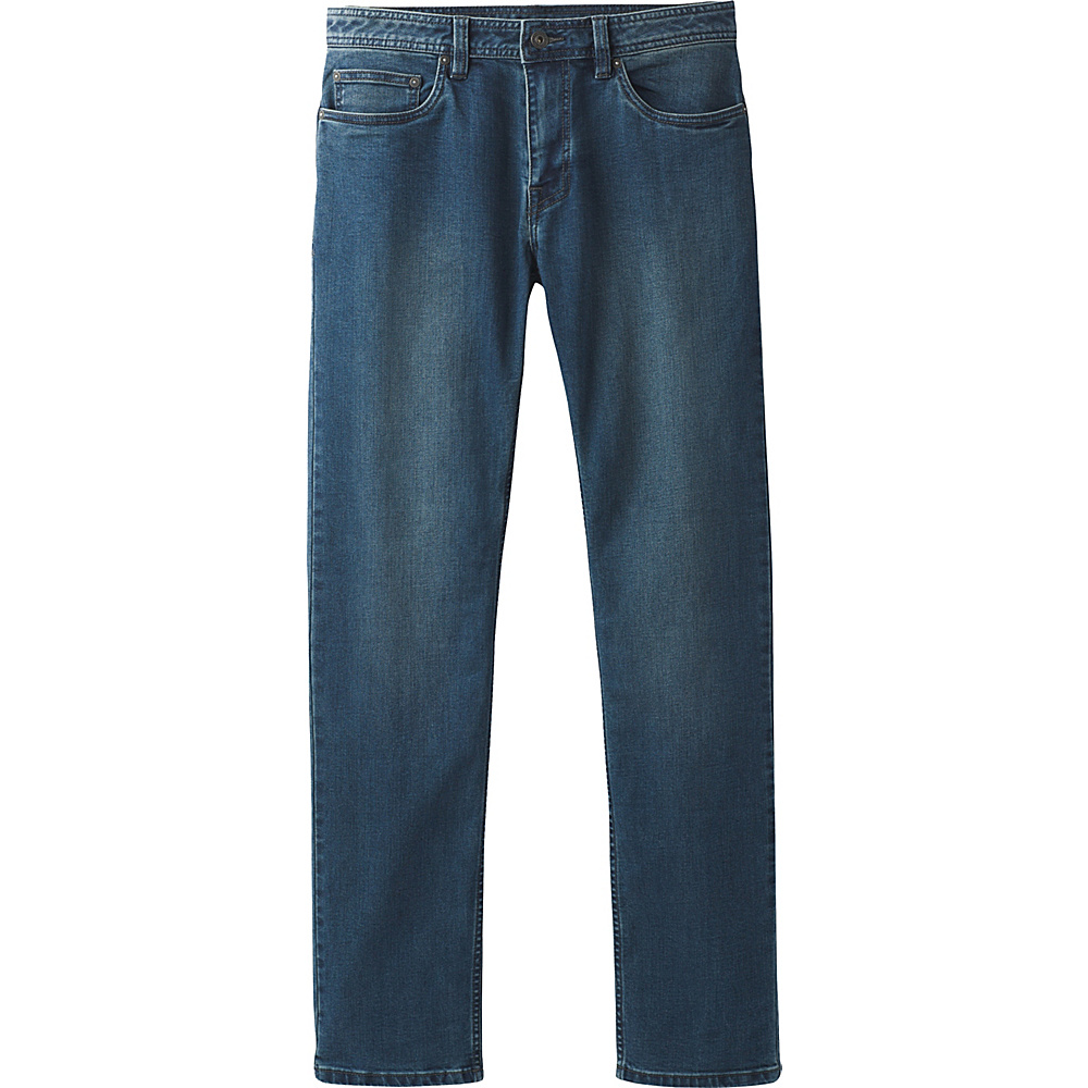 PrAna Manchester Jean 34 - 32in - Antique Blue - PrAna Mens Apparel - Apparel & Footwear, Men's Apparel