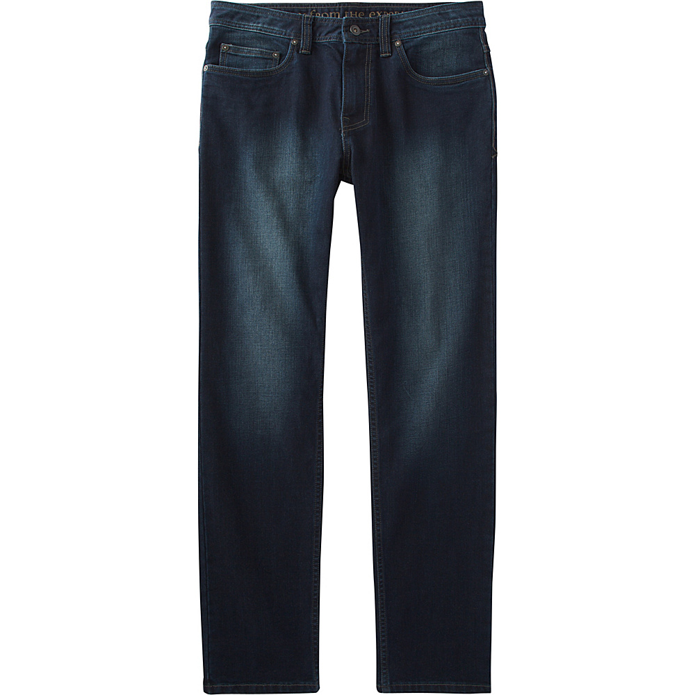 PrAna Manchester Jean 36 - 32in - Dark Indigo - PrAna Mens Apparel - Apparel & Footwear, Men's Apparel