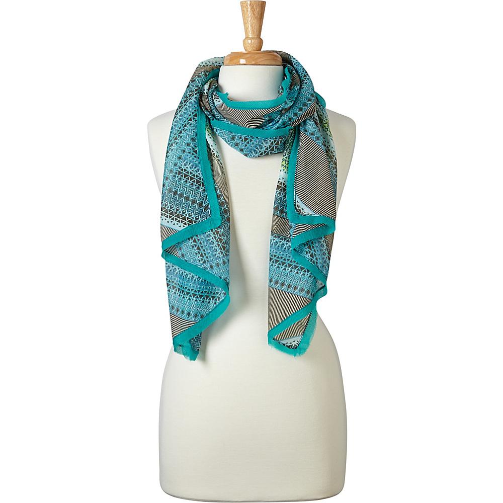 PrAna Mena Scarf Emerald Riviera - PrAna Scarves - Fashion Accessories, Scarves