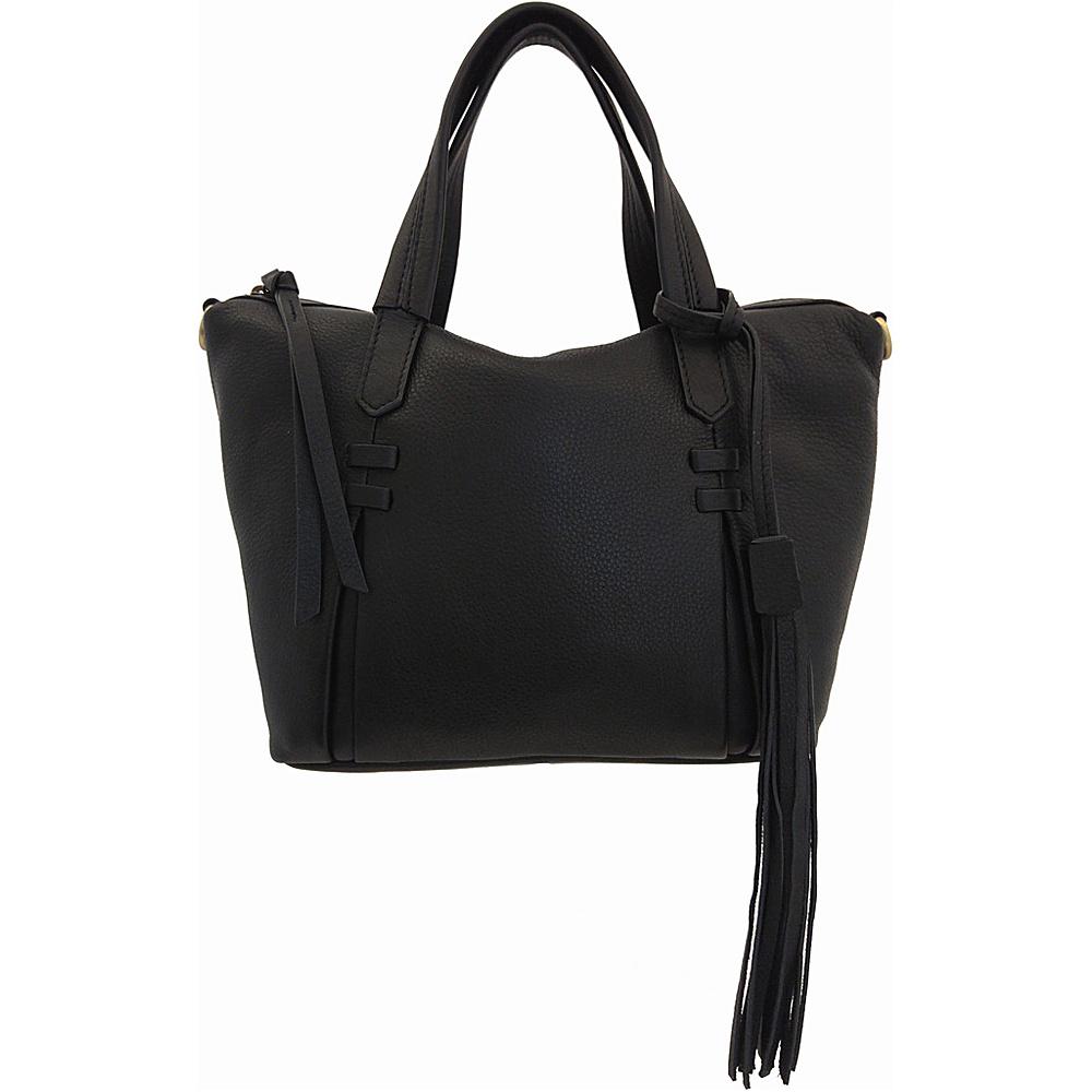 Joelle Hawkens by treesje Candyce Mini Satchel Black Joelle Hawkens by treesje Leather Handbags