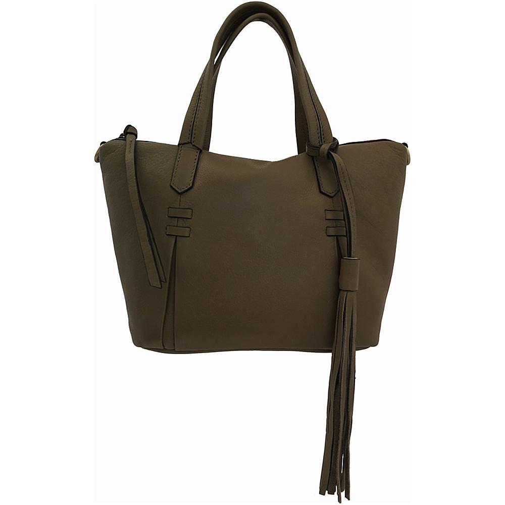 Joelle Hawkens by treesje Candyce Mini Satchel Shale Joelle Hawkens by treesje Leather Handbags