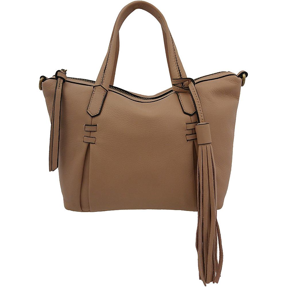 Joelle Hawkens by treesje Candyce Mini Satchel Misty Rose Joelle Hawkens by treesje Leather Handbags