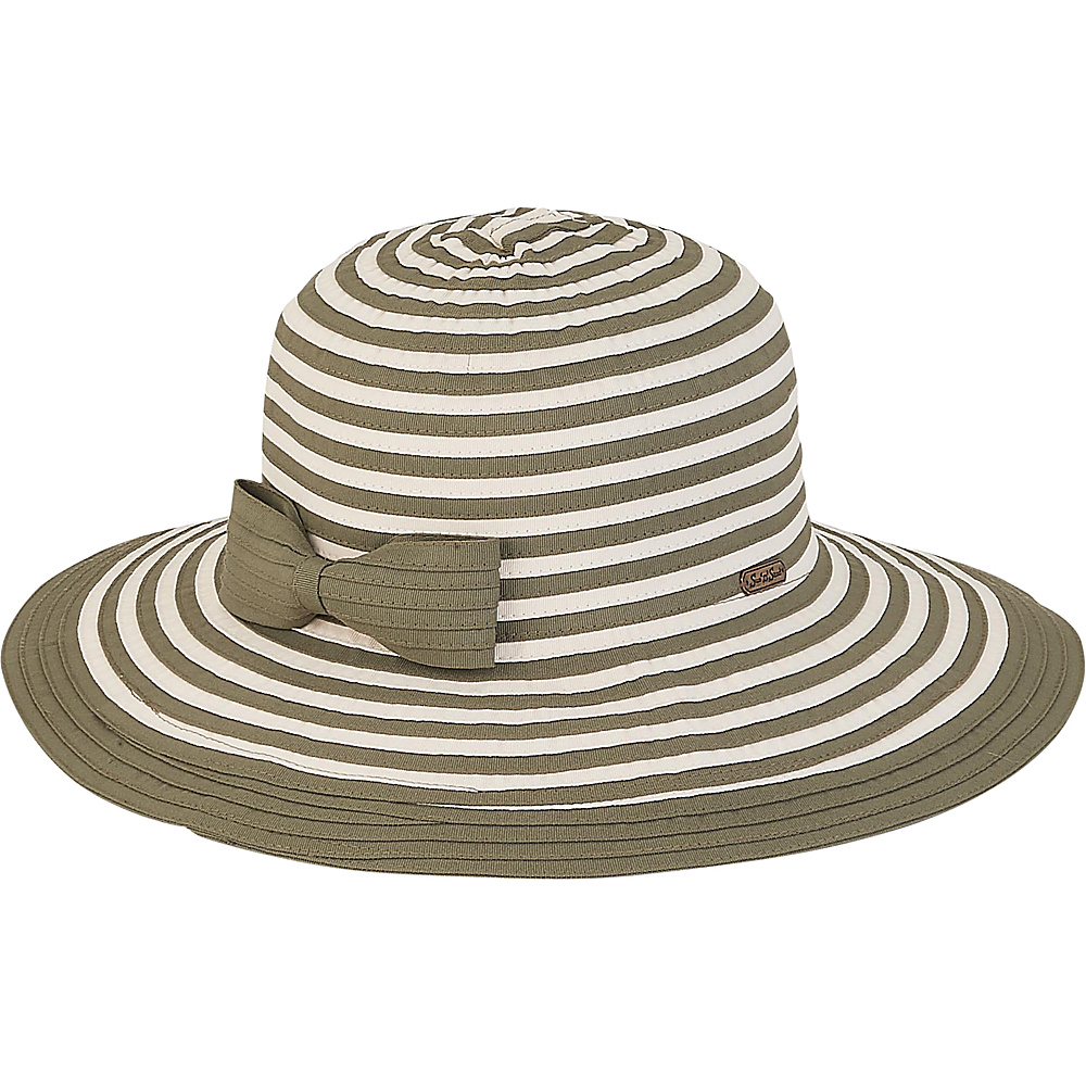 Sun N Sand Ribbons Hat C-Moss - Sun N Sand Hats - Fashion Accessories, Hats