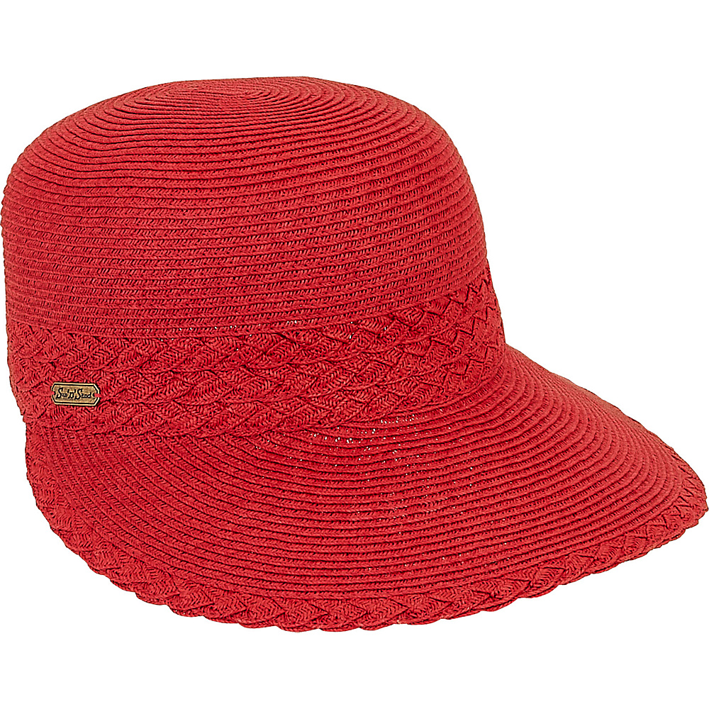 Sun N Sand Backless Hat D-Red - Sun N Sand Hats - Fashion Accessories, Hats