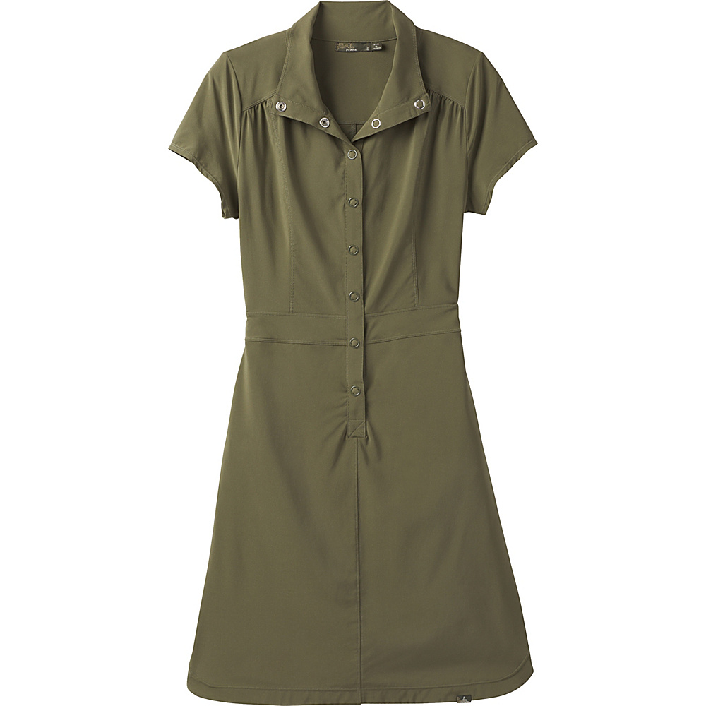 PrAna Shadyn Dress XS - Cargo Green - PrAna Womens Apparel - Apparel & Footwear, Women's Apparel