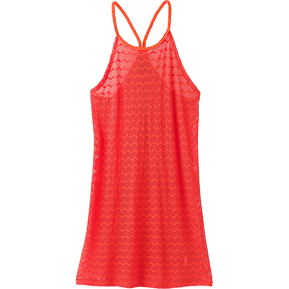 PrAna Page Dress XL - Electric Orange - PrAna Womens Apparel - Apparel & Footwear, Women's Apparel