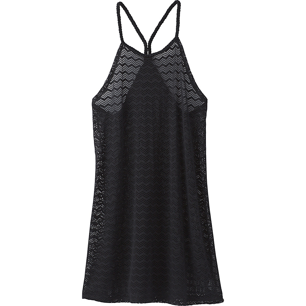 PrAna Page Dress L - Solid Black - PrAna Womens Apparel - Apparel & Footwear, Women's Apparel