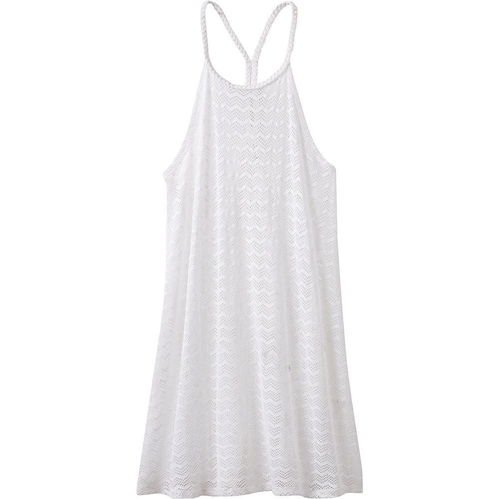 PrAna Page Dress L - White Chevron - PrAna Womens Apparel - Apparel & Footwear, Women's Apparel