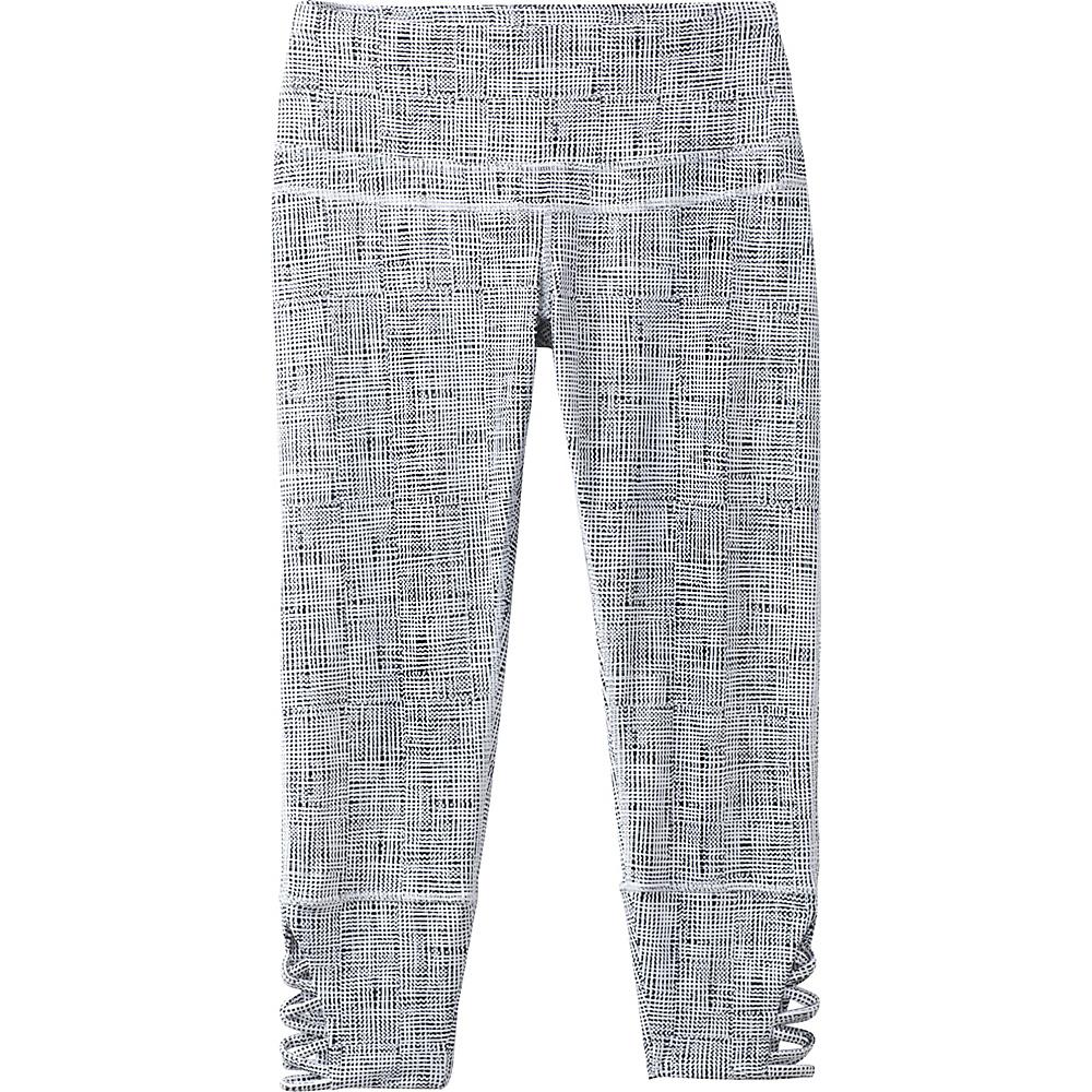 PrAna Deco Capri XL - White Print - PrAna Womens Apparel - Apparel & Footwear, Women's Apparel