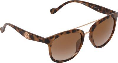 Jessica Simpson Sunwear Vintage Inspired Sunglasses Brown animal - Jessica Simpson Sunwear Eyewear