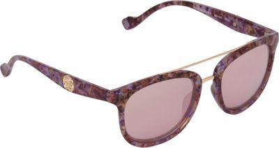Jessica Simpson Sunwear Vintage Inspired Sunglasses Purple Marble - Jessica Simpson Sunwear Eyewear