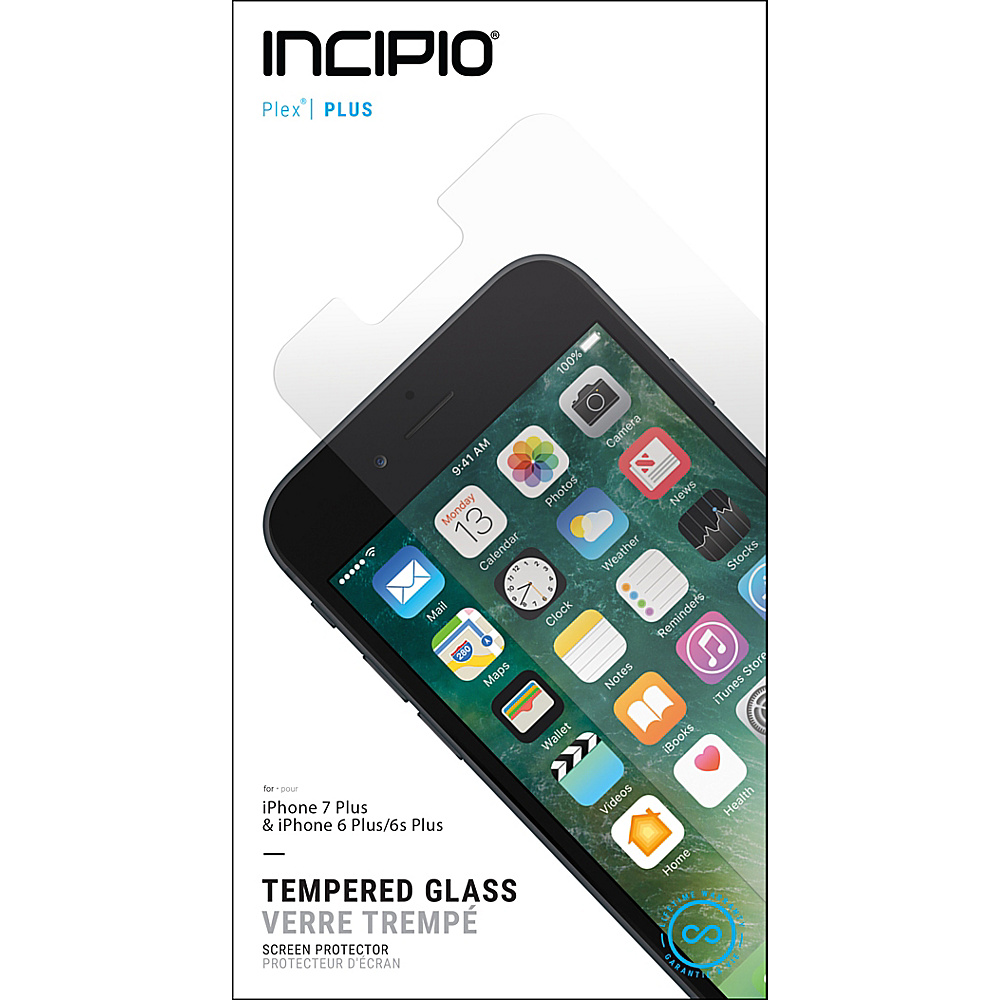 Incipio PLEX Plus Shield for iPhone 7 Plus Clear - Incipio Electronic Accessories - Technology, Electronic Accessories